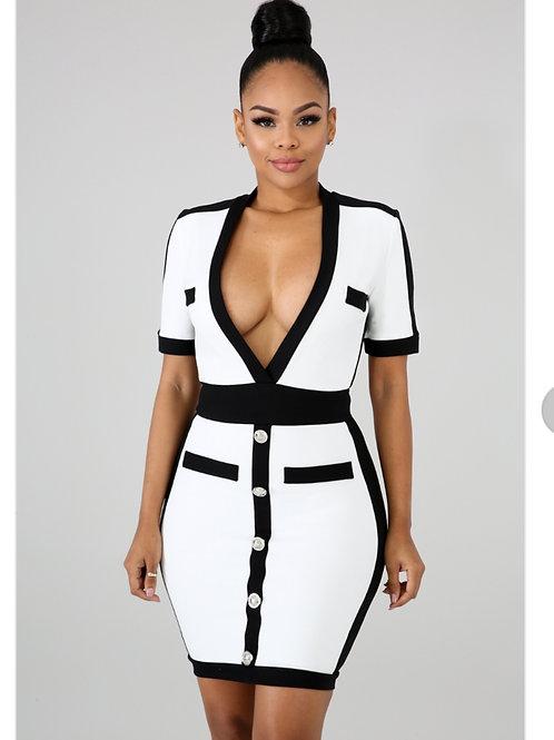 In Control Body-Con Dress
