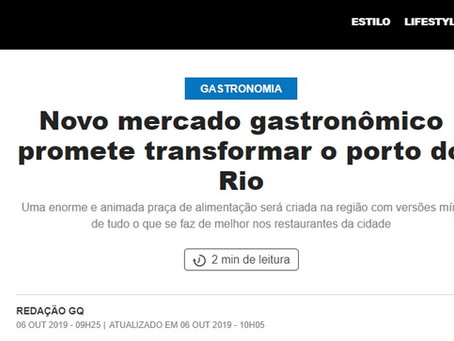 REACT- Novo mercado gastronômico promete transformar o porto do Rio