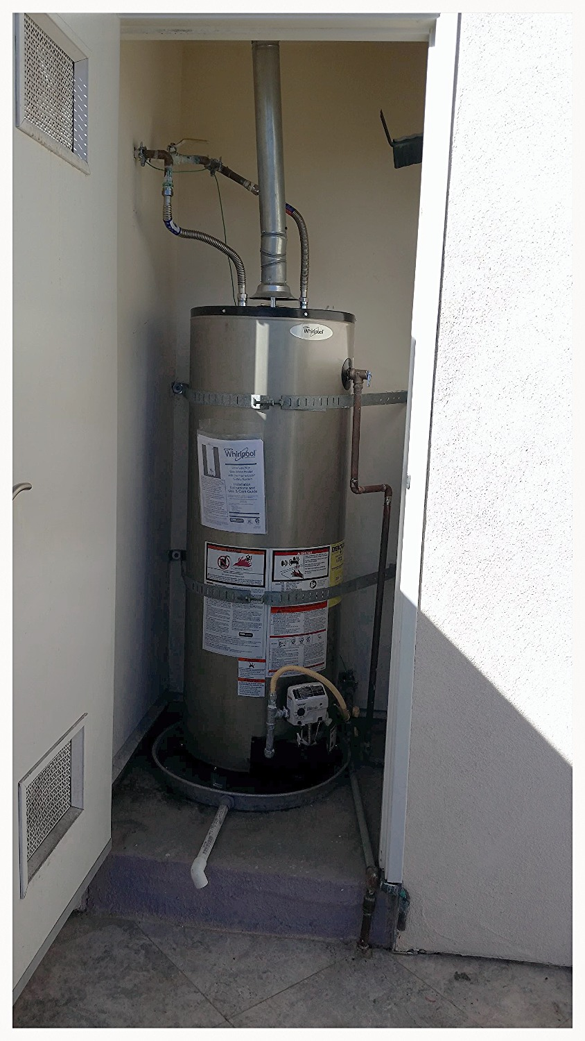 Water Heaters Replaced