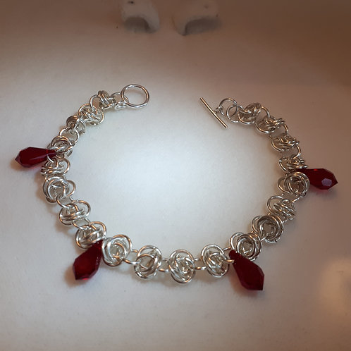 Ruby Dreams Bracelet