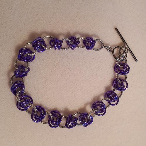 Violet Barrels Bracelet