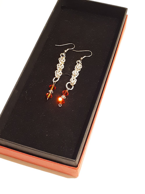 Fire & Ice Earrings