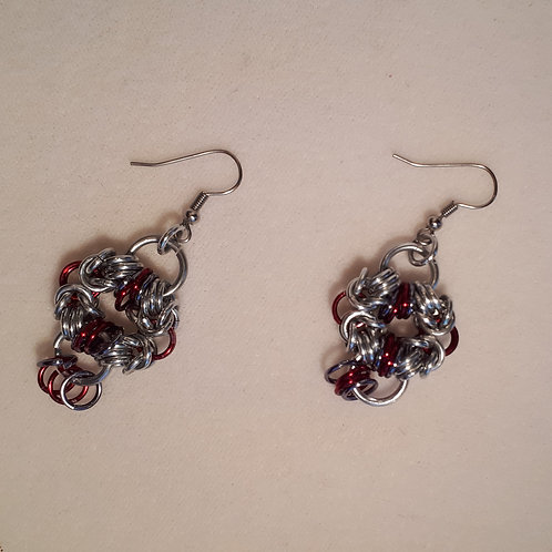 Ruby Dreams Earrings