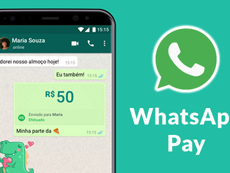 WhatsApp lança oficialmente nova função Pay