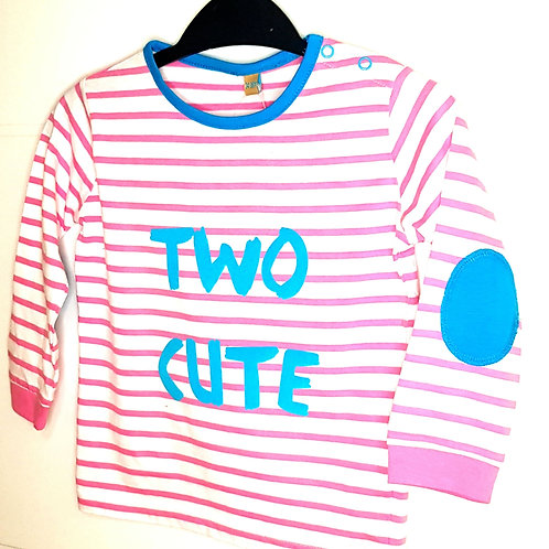 Personalised Stripy Toddler T-Shirt