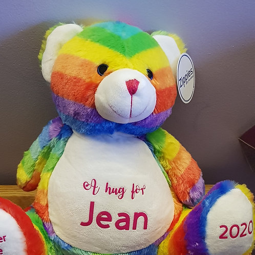 Large Rainbow Bear