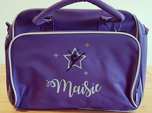 Personalised spacious multi-use dance/sport/schoolwork bag