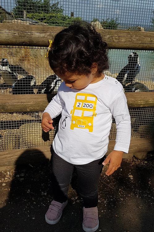 Zoo - Bus - Toddler T-Shirt