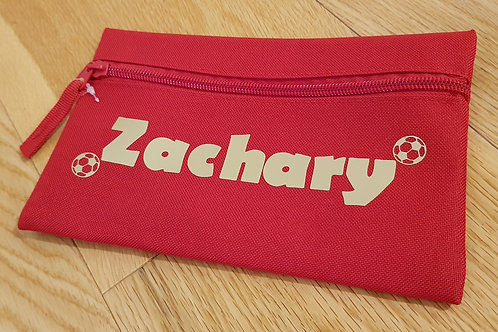 Personalised Pencil Case - Football
