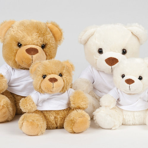 Personalised Teddy Bear with T-shirt