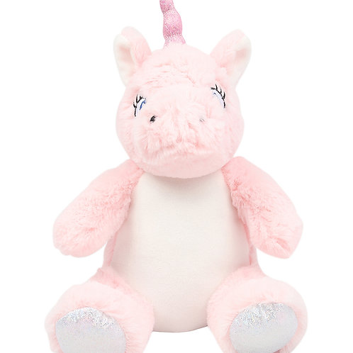 Pink Unicorn Teddy - Personalised