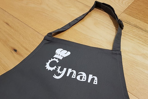 Child's Apron - Chef Hat Design
