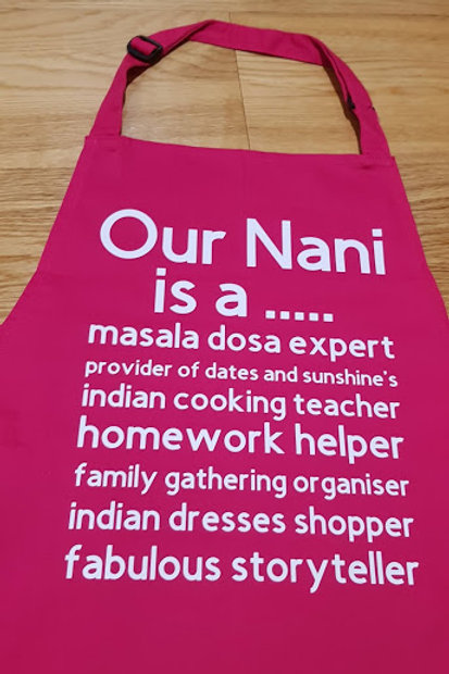 Adult - Up to 9 lines of Text - Customised Apron