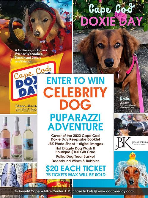 Puparazzi Adventure - Grand Prize Raffle Ticket