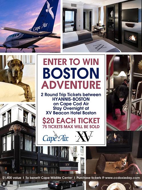 Boston Adventure - Grand Prize Raffle Ticket