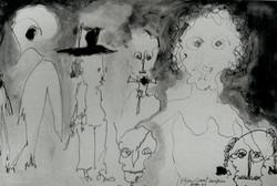 estudo para Os Diarios de Kafka