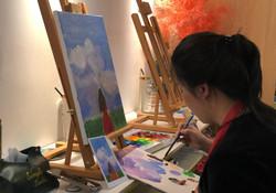 Geovana - pintura