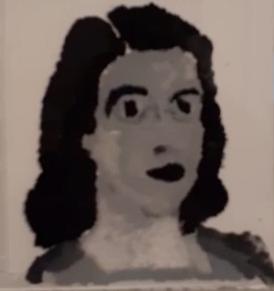 Nicole - Autorretrato - Pastel sobre Papel