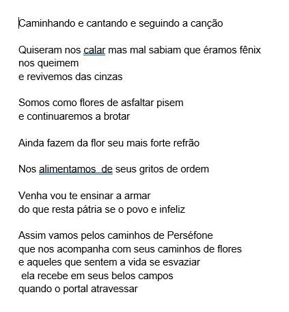 KAroline Silva Pelos Campos de Persefone