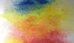 Tais - Céu - Pastel Sobre Papel