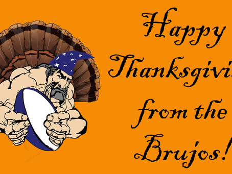 Movember Raises over $500, Still Time to Donate! Happy Thanksgiving from the New Mexico Brujos
