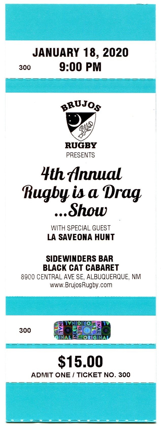 Rugby is a Drag tickets on sale now!