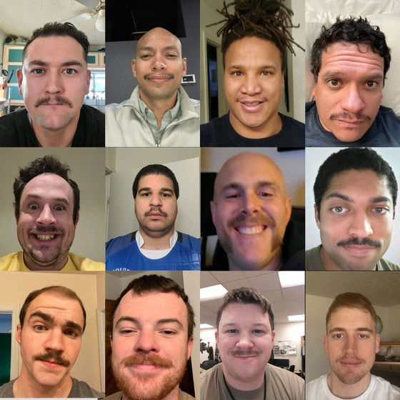 """NM Brujos Raise $725 for """"Movember"""", Top Last Year's Mark. Blue Magic Hoodie Holiday Sale!"""