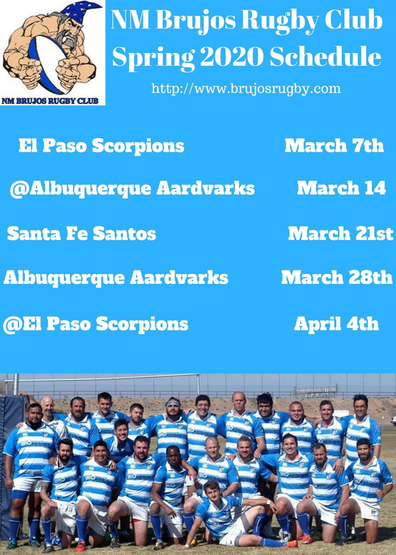 Brujos drop Rugby Union season opener, Spring 2020 schedule announced and other November Brujos news