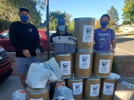 NM Brujos Clothing Drive Efforts a Rousing Success, Look Toward  Possible Holiday Themed Drives.