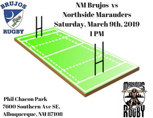 Brujos to kick off Spring 2019 season this weekend against visiting Marauders. 2019 Rio Grande Rugby
