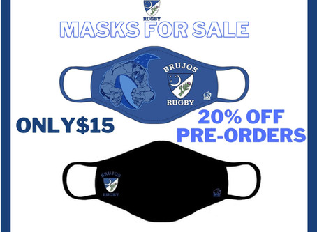 Pre-Order Your NM Brujos Mask Today and Get 20% Off.