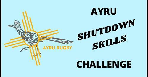 Albuquerque Youth Rugby Shutdown Skills Challenge Week 3! Week 2 Winners Announced!
