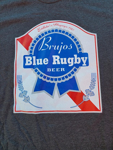 Dark Grey (soft T) PBR Blue Rugby Tee Shirt