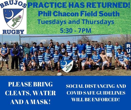 New Mexico Brujos Spring Practice Location Has Changed, AYRU Friendlies Every Saturday.