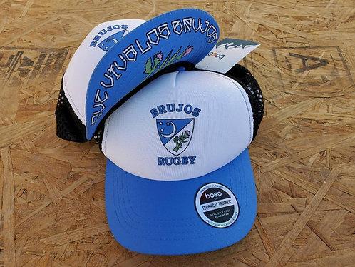 """New Mexico Brujos """"Que Viva"""" Brim Hat"""