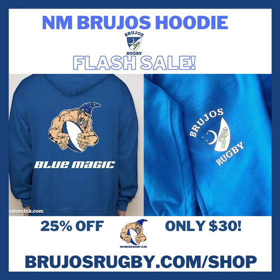 "NM Brujos ""Blue Magic"" Hoodie Flash Sale! Get 'em While They Last!"