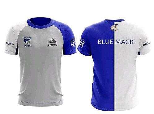 Blue Magic Work Out Shirts