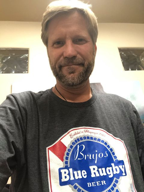 New Mexico Brujos Participate in Local Clothing Drive, Mayor Keller Shows Off His Brujos Pride.
