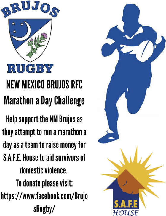NM Brujos Marathon a Day Challenge and S.A.F.E House Fundraiser week 1 recap: Brujos run over 275 mi