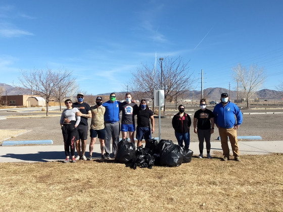 NM Brujos and Atomic Sisters Park Clean Up Event a Success, AYRU Skills Challenge Set to Begin.