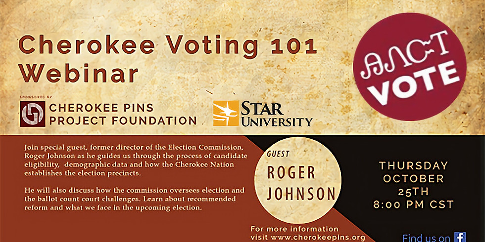 Cherokee Voting 101