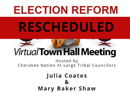 Town Hall with Julia Coates and Mary Baker Shaw