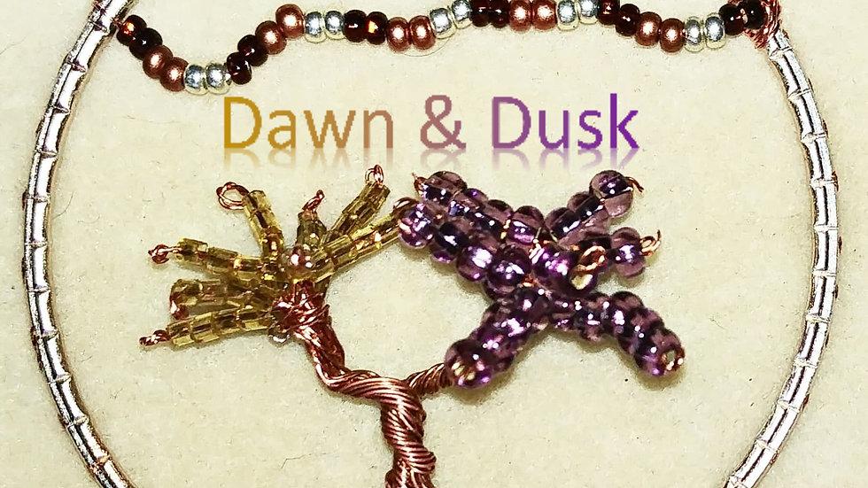 Wire tree - Dawn & Dusk