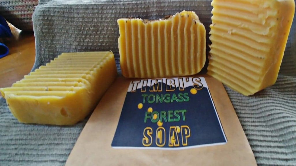 Tongass Forest Soap - Limited Quantities