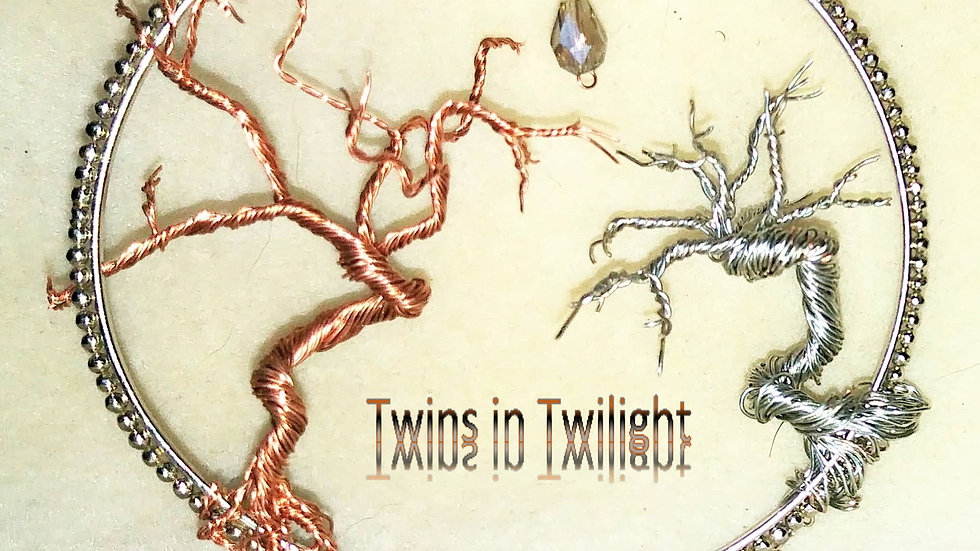 Wire Tree - Twins in Twilight