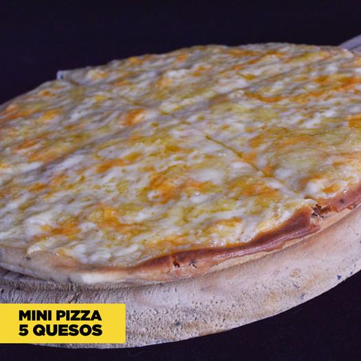 Mini Pizza 5 Cheese