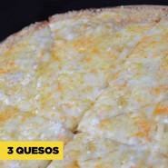 Pizza five cheese