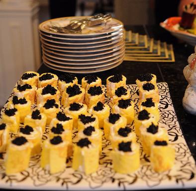 Caviar Roll-Ups
