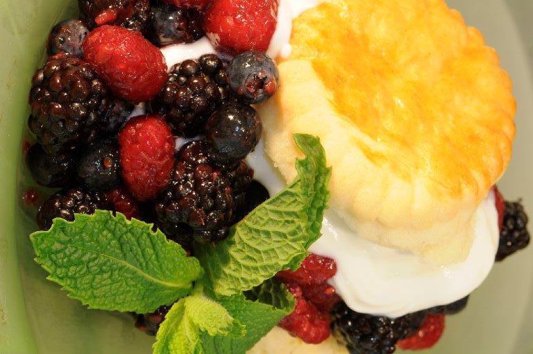 Fresh Berry Shortcake