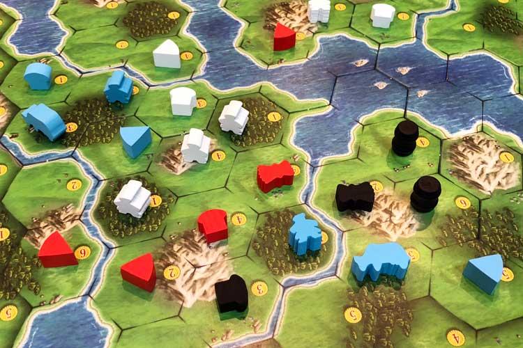 클랜 오브 칼레도니아 게임 모습